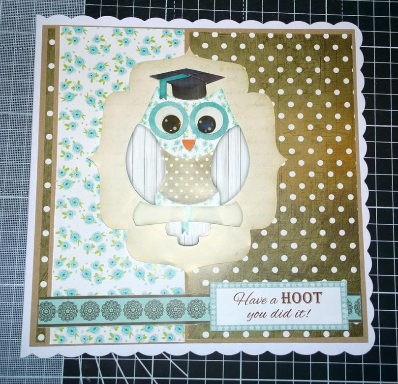 Graduation owl card