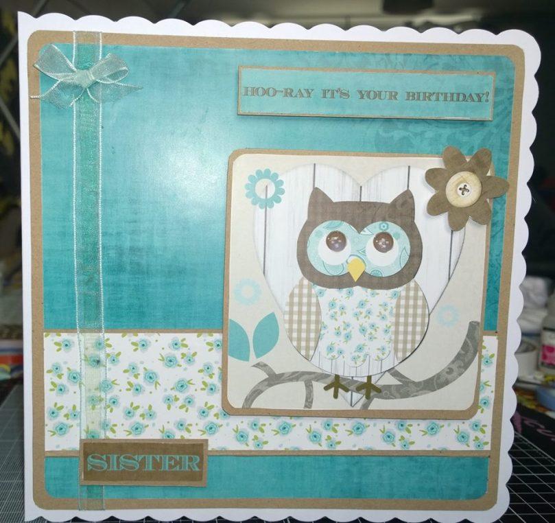 Owl Sister card