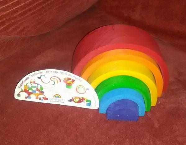Grimm's 6 Piece Rainbow